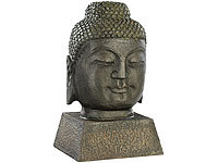 NAKAMARI Stilvolle Buddha-Figur in antiker Bronze-Optik